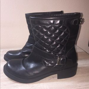 Bates Combat Boots Leather